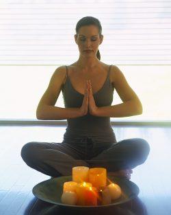Meditation can aid a restful night's sleep
