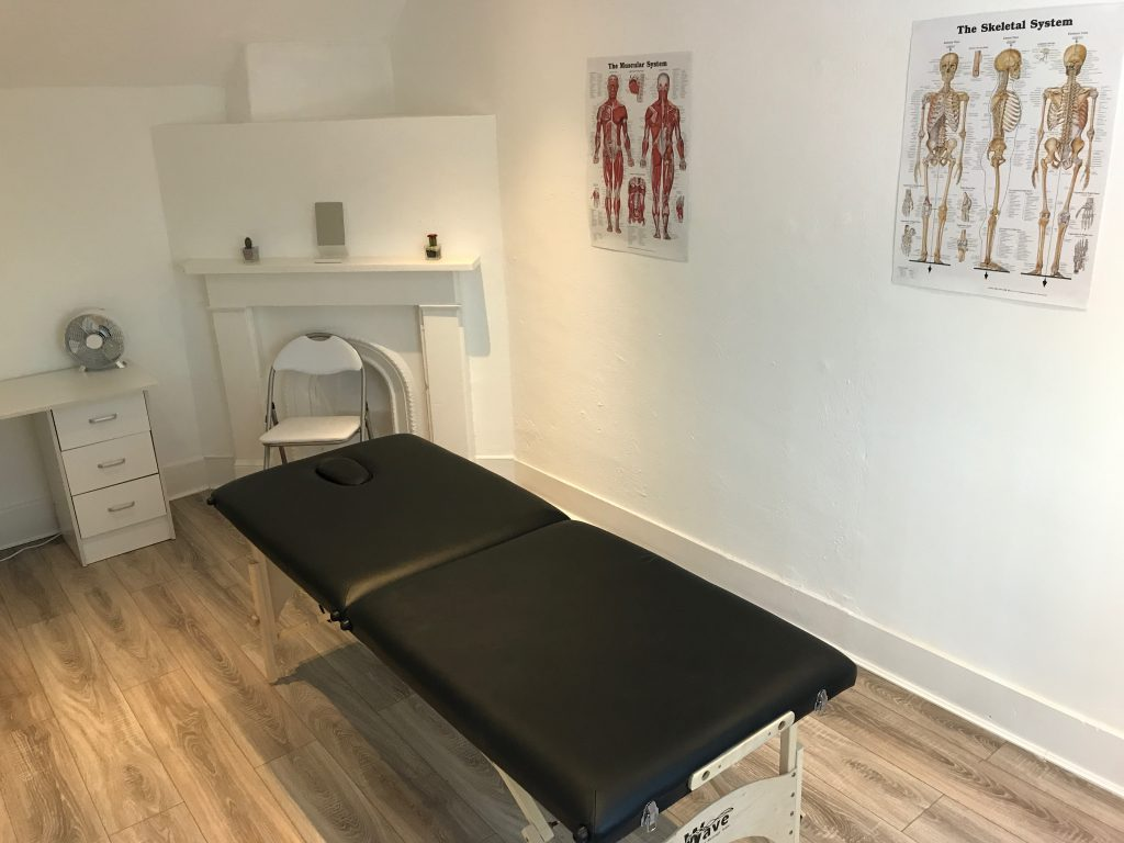 Sports Massage Room at Bodyline Fitness Ealing