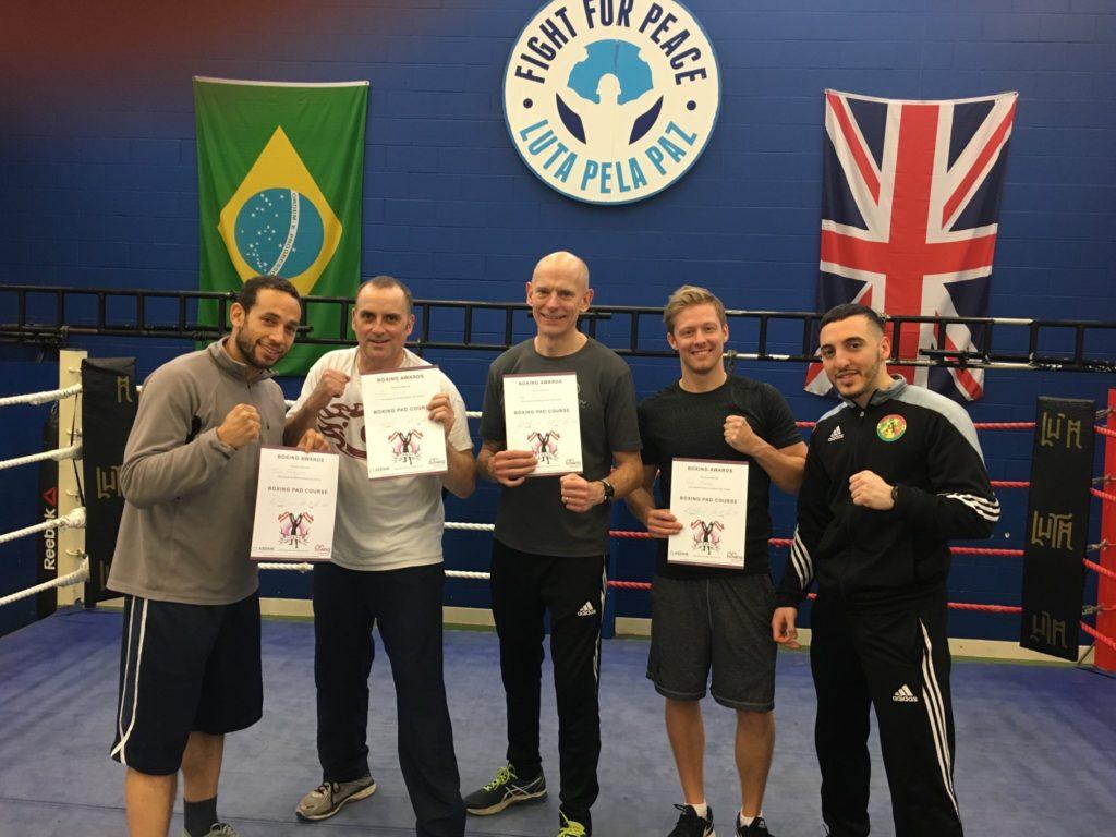 boxing training in ealing