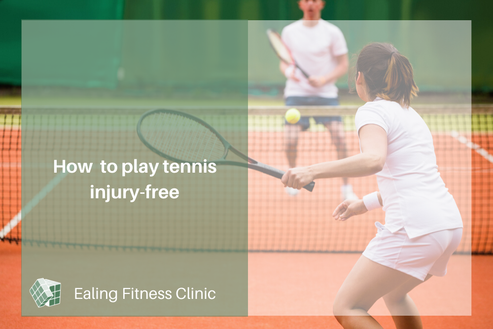 personal training and sports injury ealing