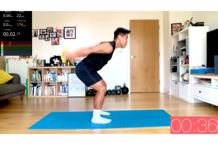 home workouts based in ealing